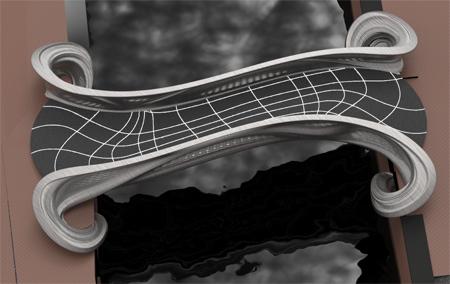 3D yazıcı ile yapılan köprü-yerine konduktan sonra oluşacak görüntüsü