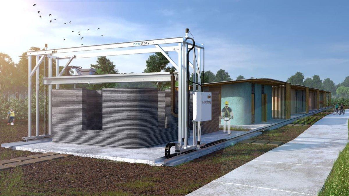 3D yazıcı ile ev yapımı