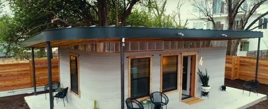 3D yazıcı ile üretilen ev