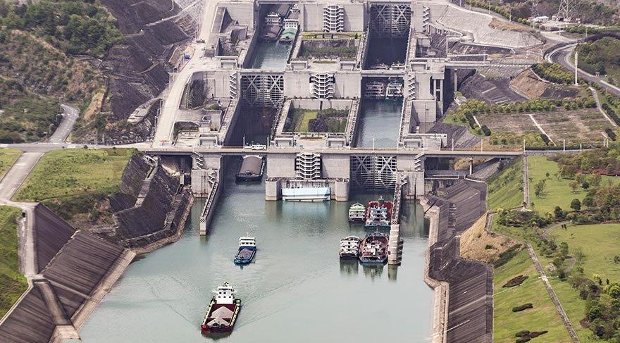 Üç Boğaz Barajı-Gemi Lifti